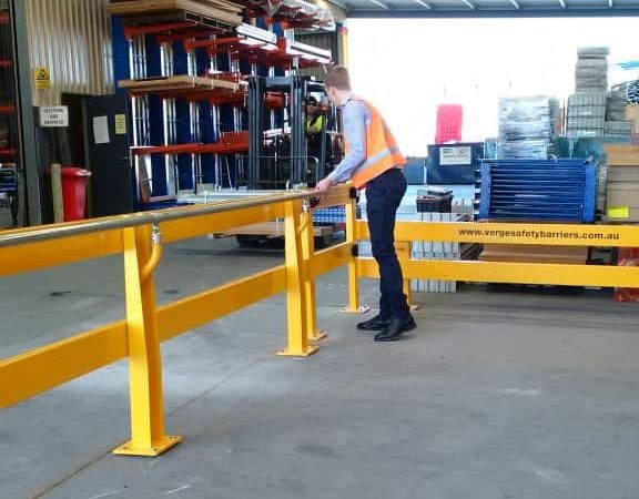 Safety Barriers And Risk Prevention In Warehouse